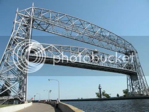 Aerial Lift Bridge expecting company