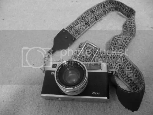 Yashica with strap