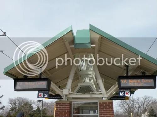 VA Medical Center Station shelter roof shape