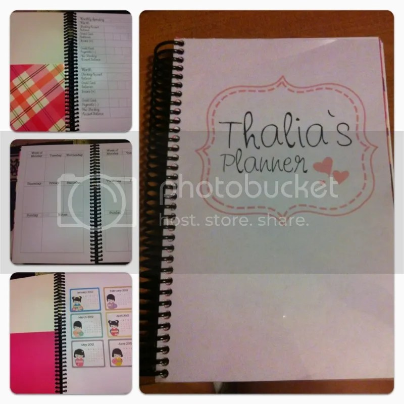DIY Planner Customized