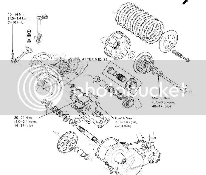 Yamaha Banshee Service Manual Transmission  Auto Electrical Wiring Diagram