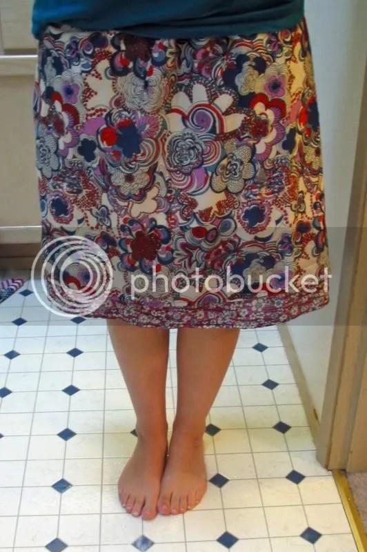 sewing,refashion,skirt