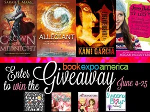 Enter the BEA Giveaway from the Fictionators