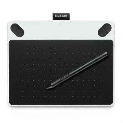 Графический планшет Wacom Intuos Draw White Pen S цвет белый (CTL-490DW-N) (CTL-490DW-N)