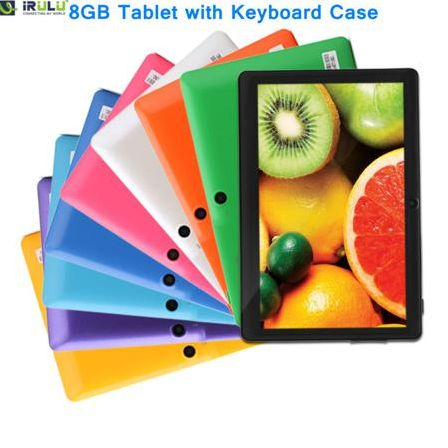 Планшетный ПК IRULU X 1 7 Tablet PC 8 Android 3G WIFI 2015 JX738-JX746+A0001-A0006