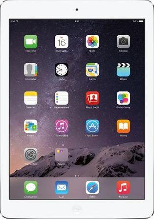 Apple iPad Air 2 Wi-Fi + Cellular 64GB Silver White