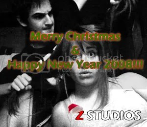 Z Studios Merry Christmas & Happy New Year 2008!!!