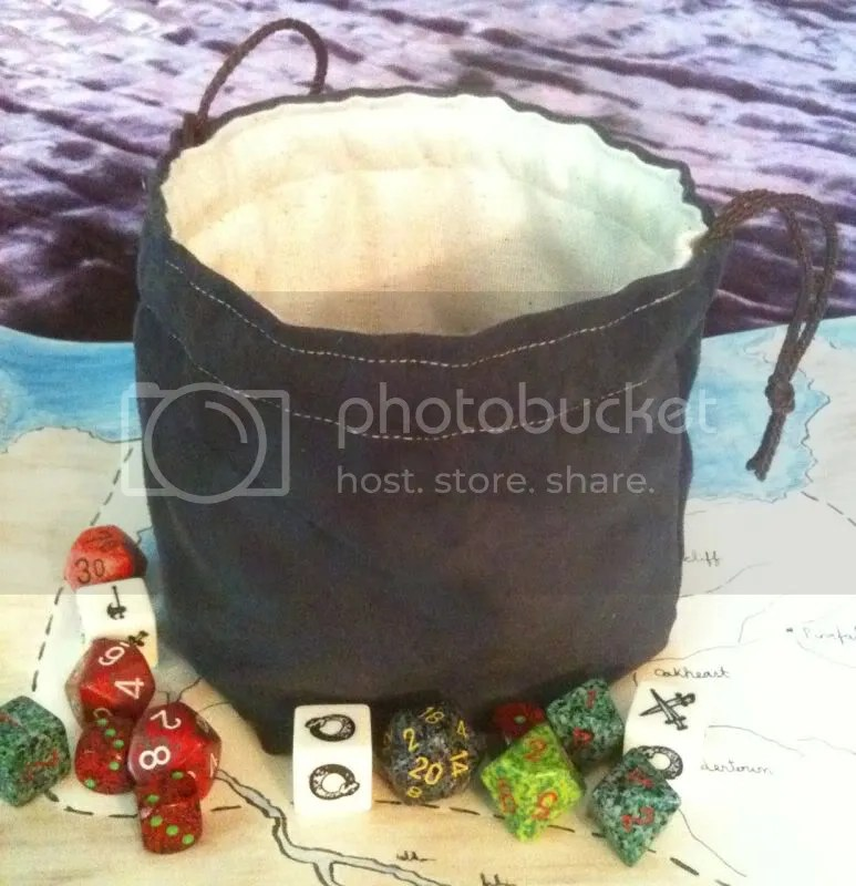 Freestanding Suede Bag