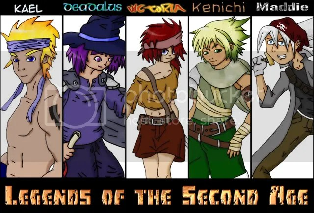 Legends of the Second Age