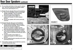 Guide: Replacing door speakers in '08 WRXImpreza: Spacers, adapters, instructions  NASIOC