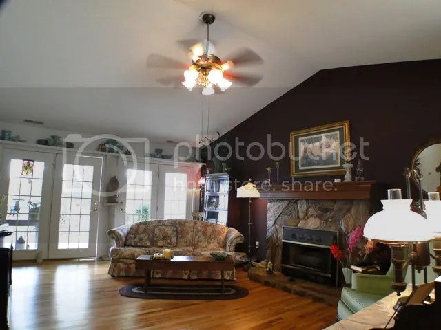 This home sports lovely oak hardwood floors and a classy flat rock fireplace, Franklin NC Realty, Bald Head, John Becker
