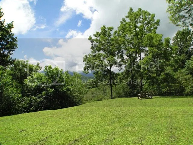 This beautiful home has easy access and is on 1\2 acre or so of LEVEL land with great mountain views, Bald Head the Realtor, John Becker Realtor