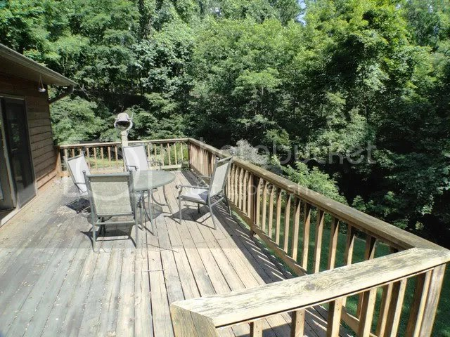 Peaceful views and lots of decking, Keller Williams Franklin NC, Bald Head the Realtor, John Becker