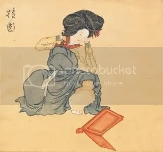 18th century Korean Beauty
