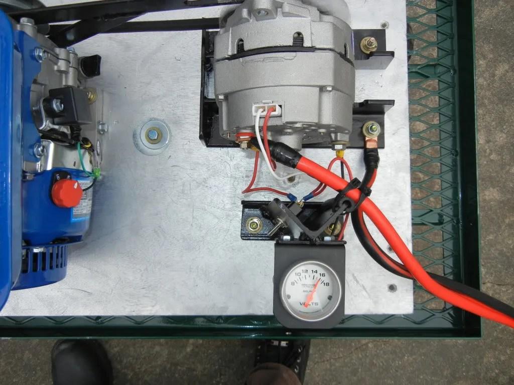 DIY Small Alternator/PM Motor Battery Charger/generator