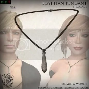 Egyptian Pendant Necklace