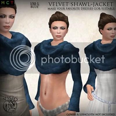 Velvet Shawl Jacket