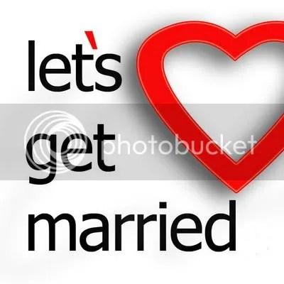 Obat jatuh cinta gambar let's get merried ajak menikah