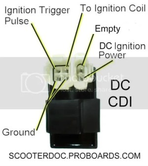 50ccc CDI AC OR DC GY6 MOTOR REFRESH | Scooter Doc Forum