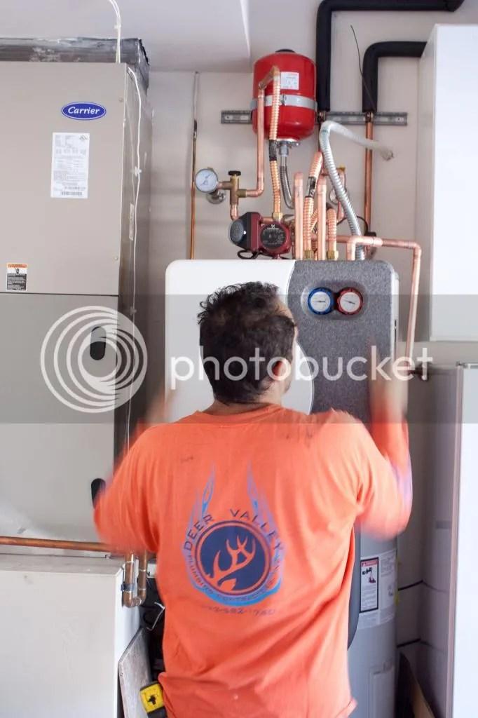 repair water heater centennial high school