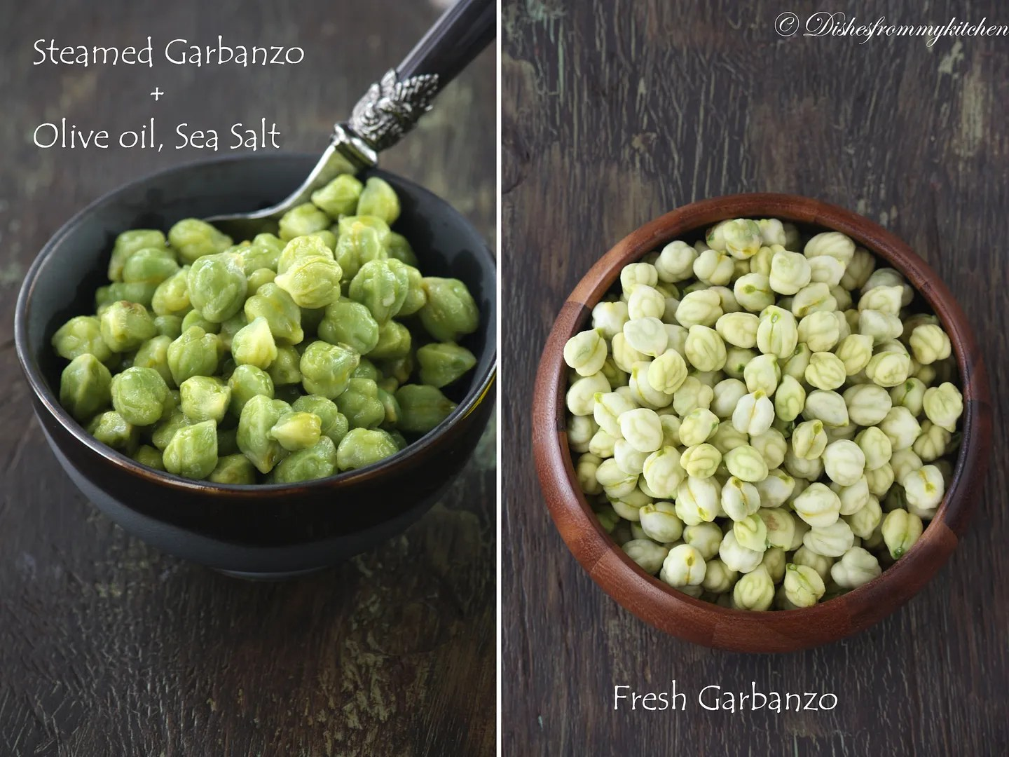 Dishesfrommykitchen HOW TO COOK FRESH GARBANZOCHICKPEA