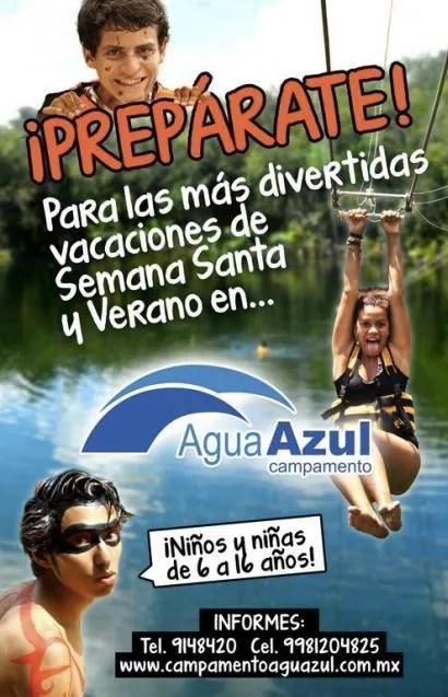 Agua Azul Overnight Camp 2015