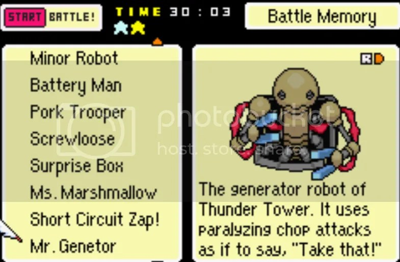 MOTHER 3 BACK SPRITE Enemy List, #1-204 (includes unused