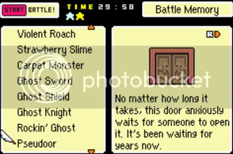 MOTHER 3 BACK SPRITE Enemy List, #1-204 (includes unused enemies