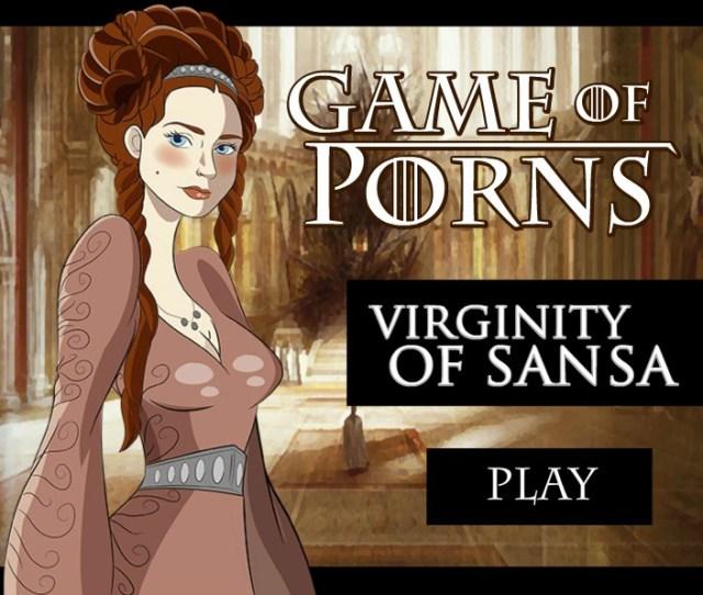 Game Of Porns Virginity Of Sansa