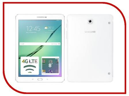 Планшет Samsung SM-T719N Galaxy Tab S2 8.0 - 32Gb LTE White SM-T719NZWESER (Qualcomm Snapdragon 652 1.8 GHz/3072Mb/32Gb/Wi-Fi/Bluetooth/Cam/8.0/2048x1536/Android)