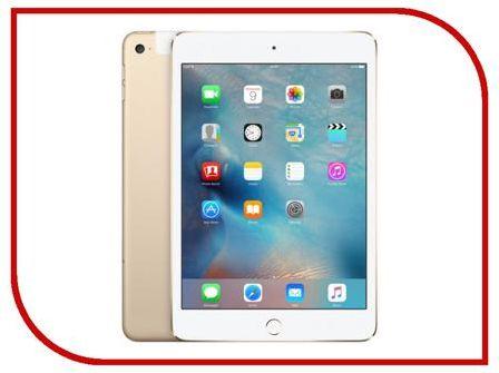 Планшет APPLE iPad mini 4 128Gb Wi-Fi Gold MK9Q2RU/A