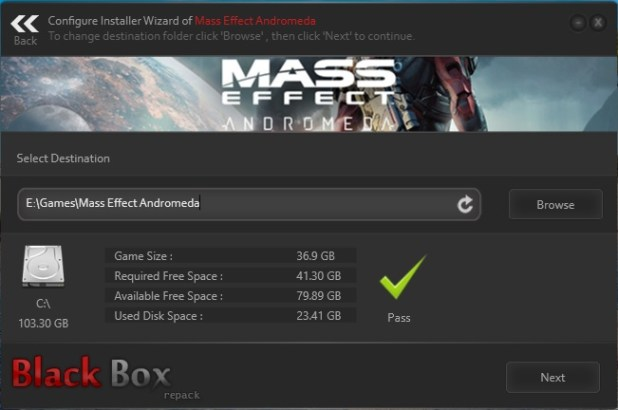 Mass Effect Andromeda-Black Box