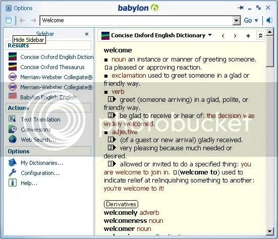 Babylon dictionary | Bùi Quốc Phong