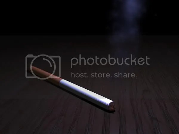 Cigarette, by Eric Pfund