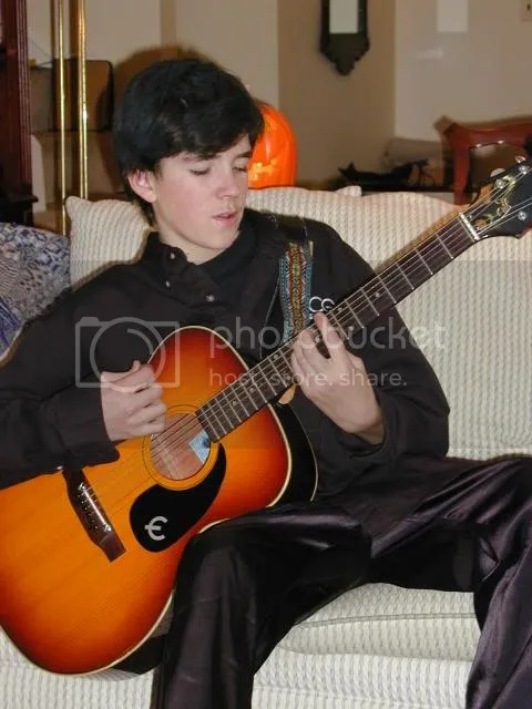 Me playing guitar 2