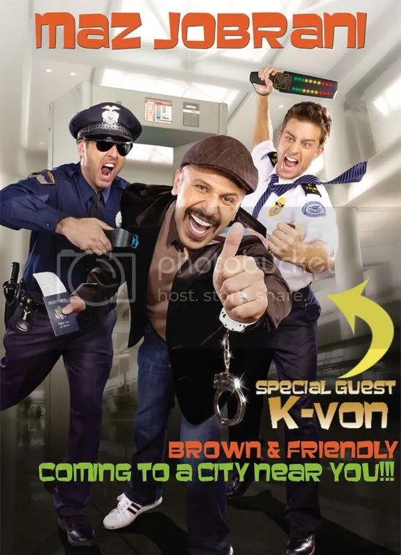 "K-von w/ Maz Jobrani ""Brown & Friendly Tour"""