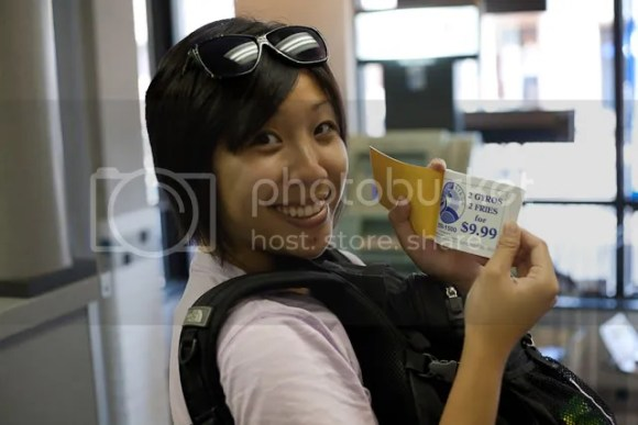 Cindy with a sweet coupon which was actually for another place. Fail :(