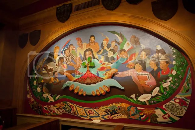 Mural at the University of Madison