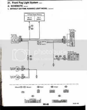 fog light schematic and DIY  Subaru Impreza GC8 & RS