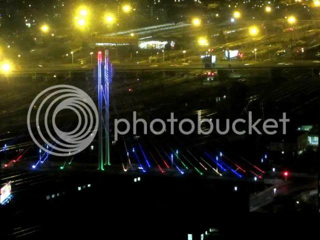 Parktonian Mandela Bridge Night Lights