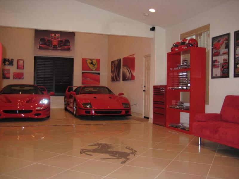 Carrelage Garage Voiture