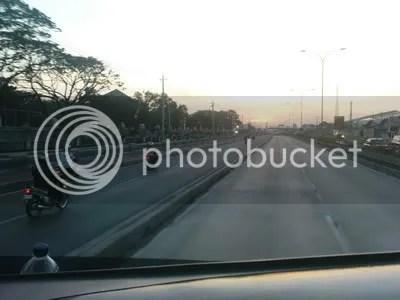 Pagi di dekat Terminal Terboyo