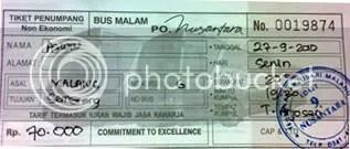 Tiket Nusantara NS-96
