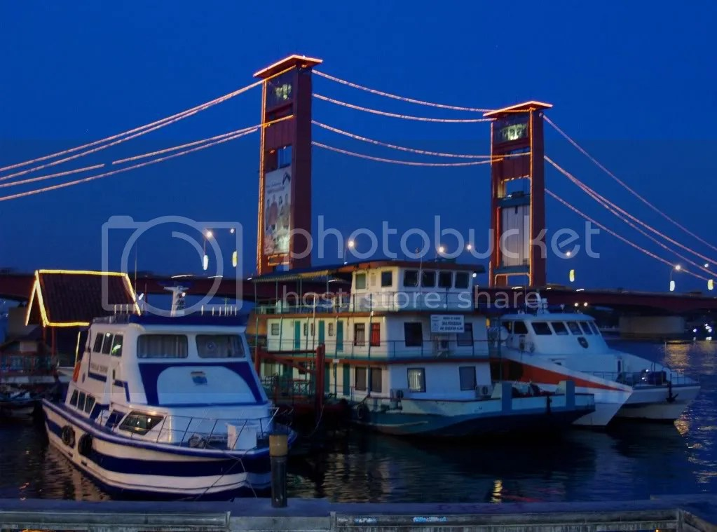 Sungai Musi | Jembatan Ampera