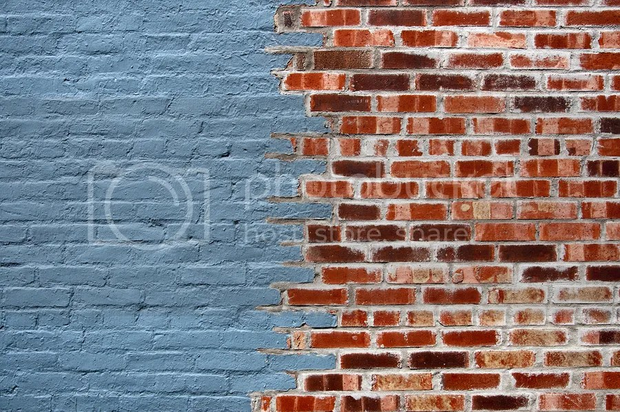 Painting exposed brick can enhance curb appeal