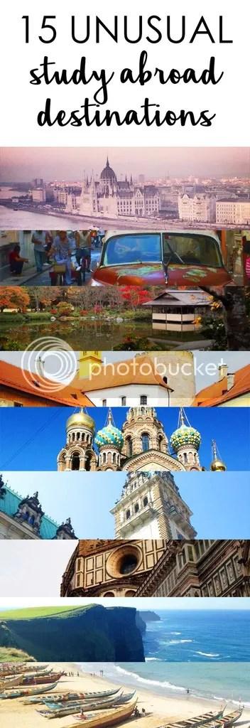 Top 15 unusual study abroad destinations!