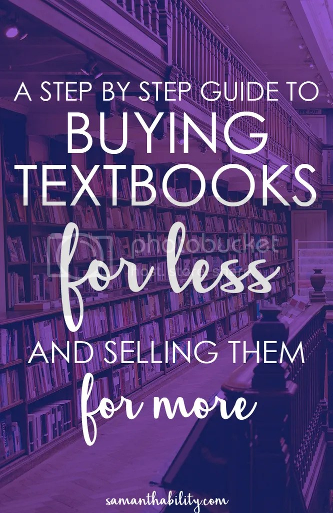 A step by step guide for how to buy textbooks for less and sell them for cash