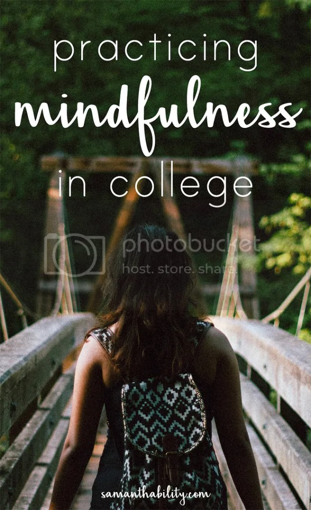 Mindful in college