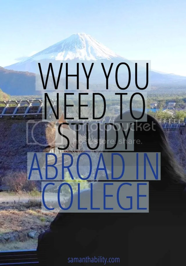 Why you need to study abroad in college