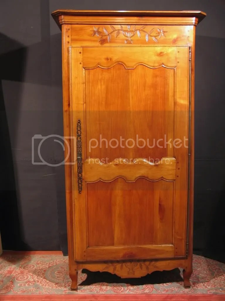 ANCIENNE BONNETIERE VENDEENNE MERISIER Armoire 1 Porte EBay